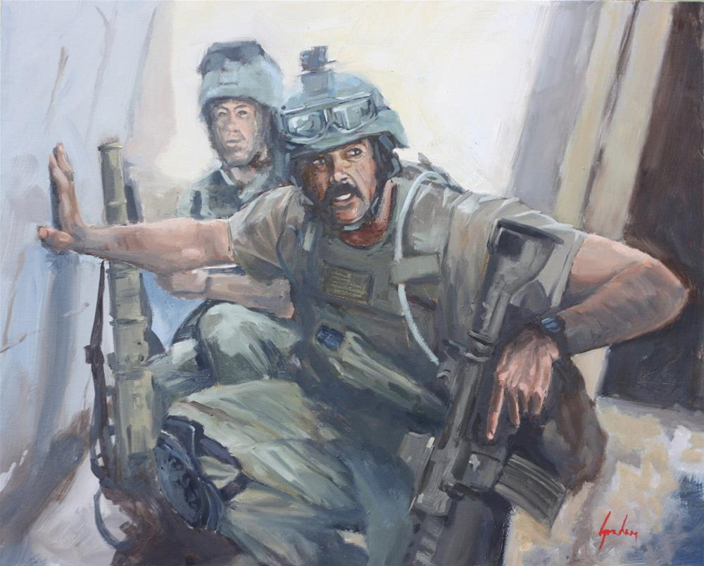"""Fallujah – 2005"" original fine art by Graham Townsend"