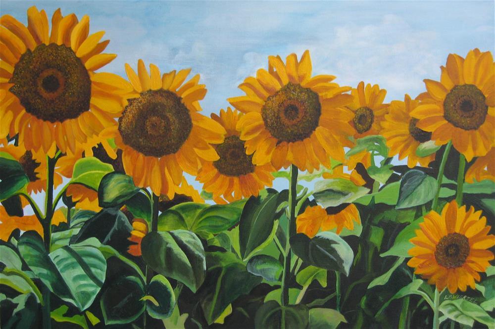 """""""Rise"""" original fine art by Lisa Wiertel"""