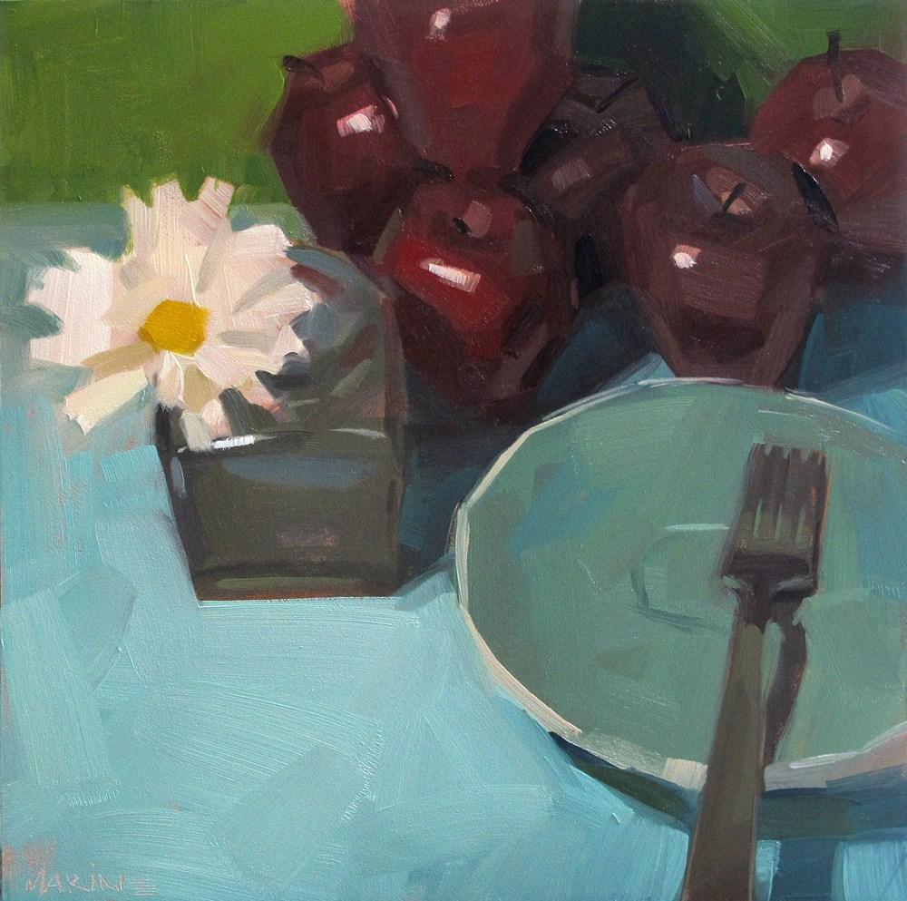 """Distractions"" original fine art by Carol Marine"