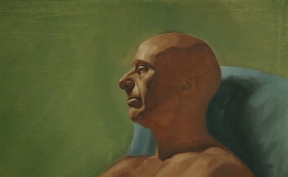 """Tom"" original fine art by Philla Barkhorn"