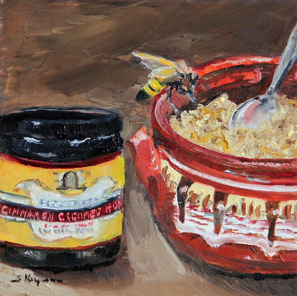 """Beekman Honey and Oatmeal"" original fine art by Shelley Koopmann"