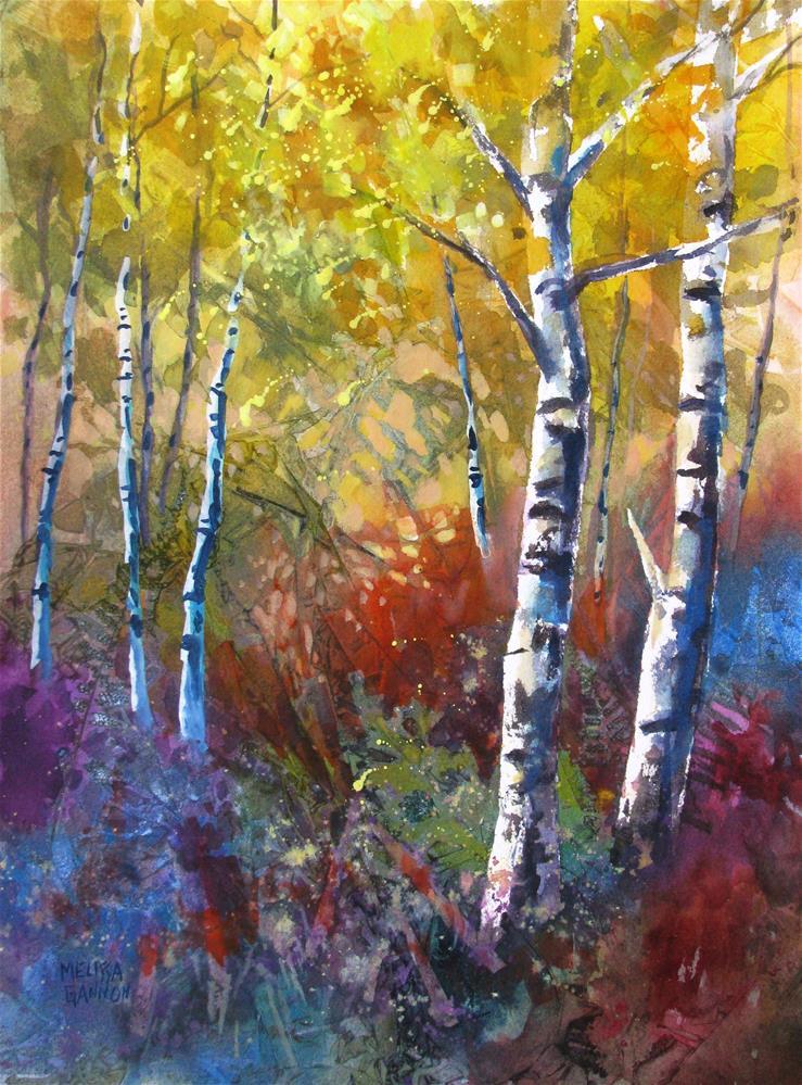 """Nature's Layers"" original fine art by Melissa Gannon"