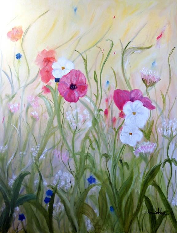 """""""Field of Dreams"""" original fine art by Lou Belcher"""
