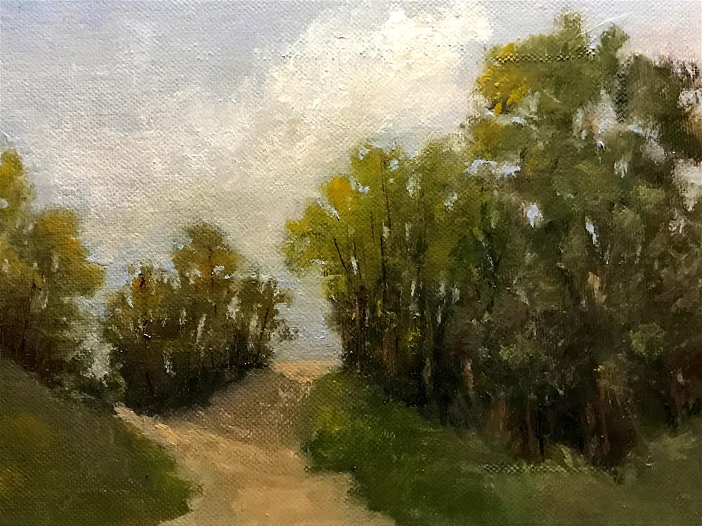 """split path"" original fine art by Betty Argiros"