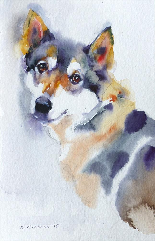 """adopt91"" original fine art by Katya Minkina"