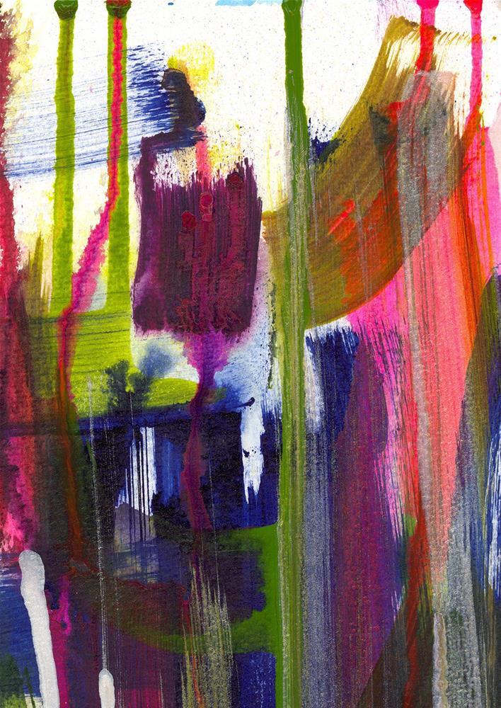"""Saguaro Bloom"" original fine art by Tonya Doughty"