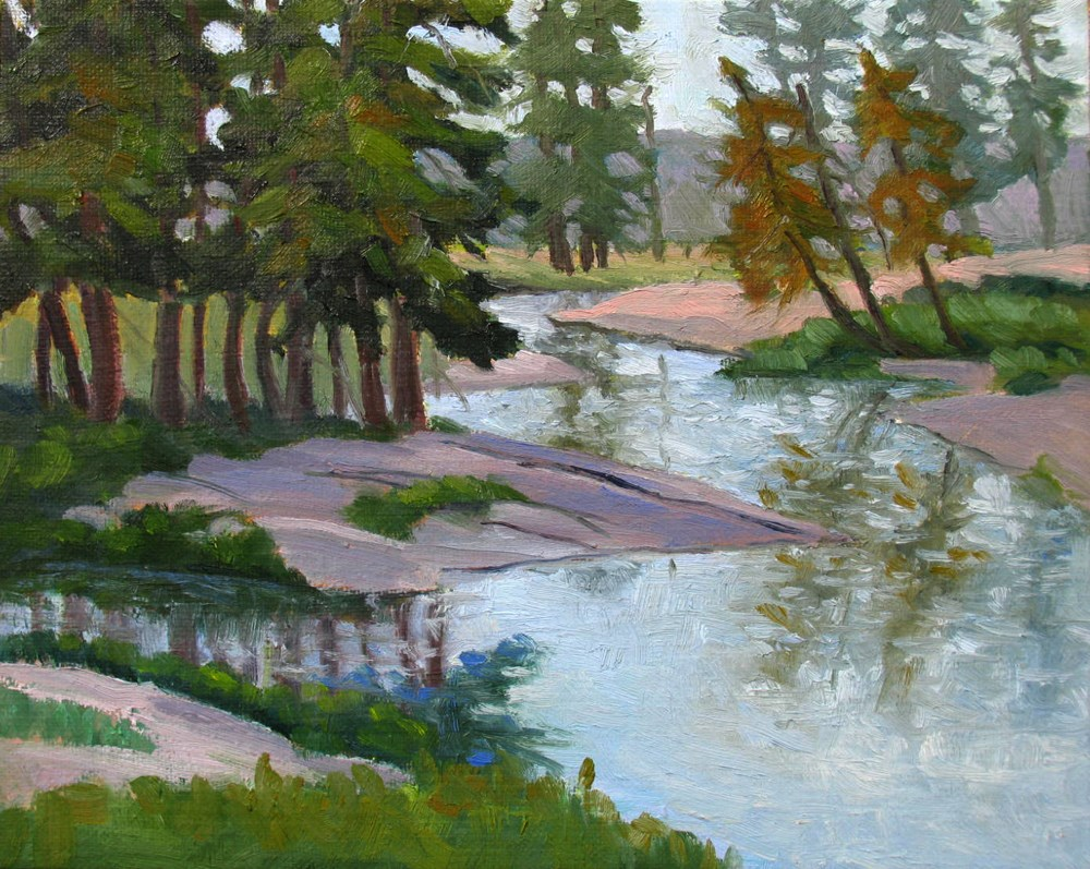"""Toulumne Meadows Stream"" original fine art by Rhett Regina Owings"