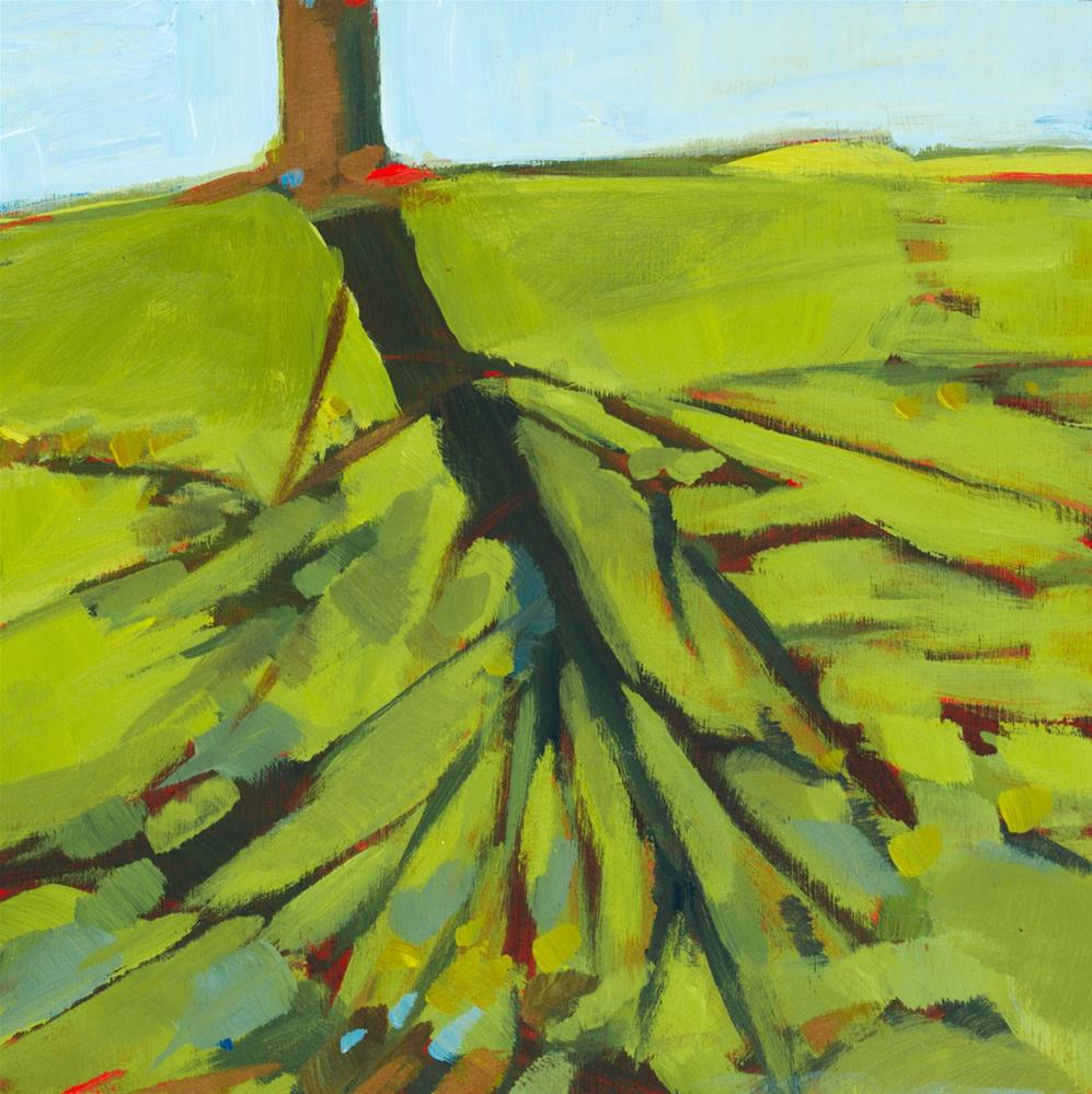 """0698: Sweet Shadows"" original fine art by Brian Miller"
