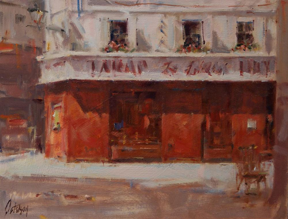 """Tabac"" original fine art by Mike Peterson"