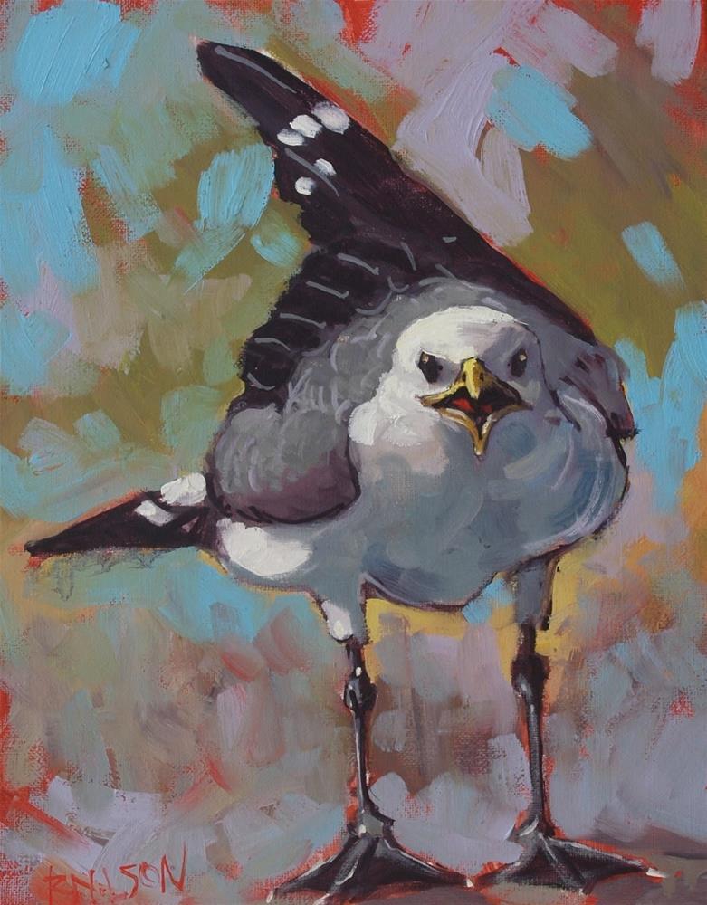 """Pundit"" original fine art by Rick Nilson"
