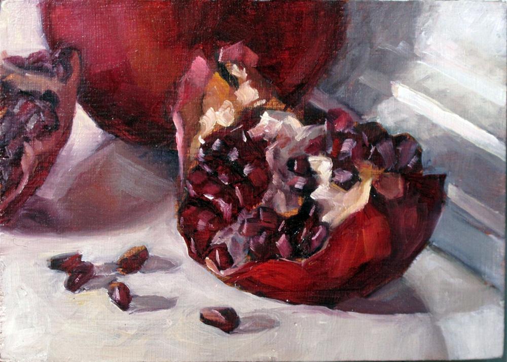 """Persephone's temptation"" original fine art by Myriam Kin-Yee"