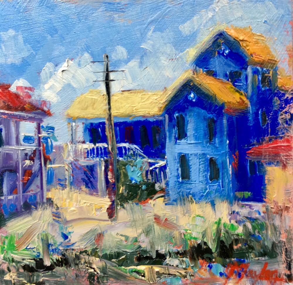 """Blue is My favorite Color"" original fine art by Jennifer Stottle Taylor"