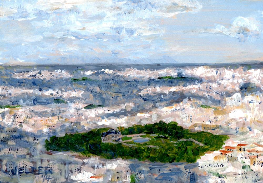"""Paris No. 44"" original fine art by Judith Elder"