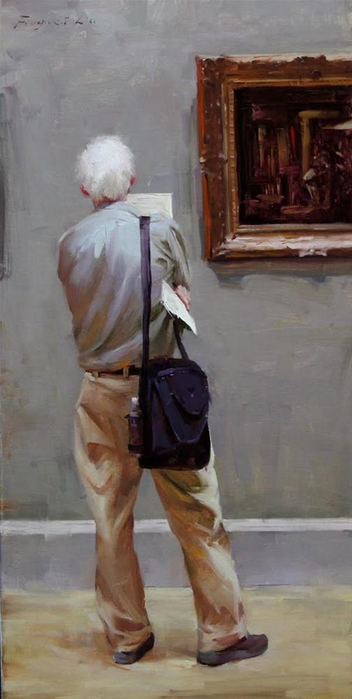 """Museum Series 12-01"" original fine art by Fongwei Liu"