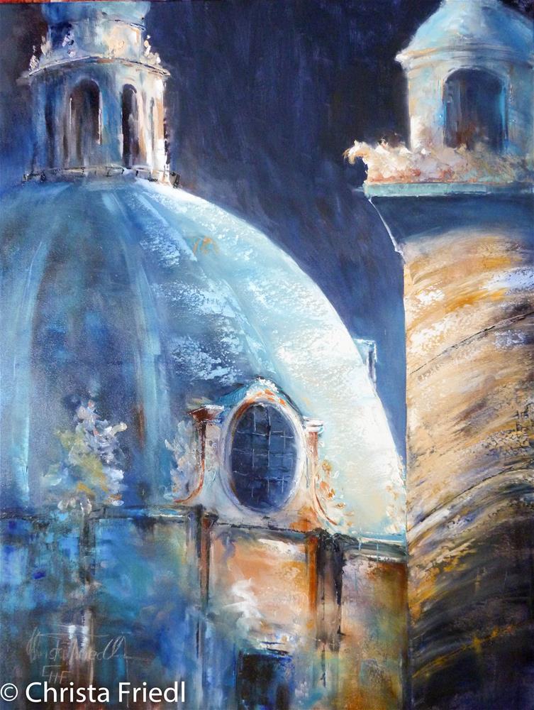 """Illuminated"" original fine art by Christa Friedl"