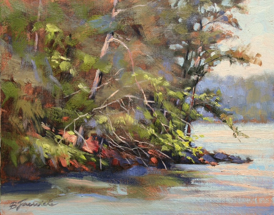 """Springtime at Red Top"" original fine art by Barbara Jaenicke"