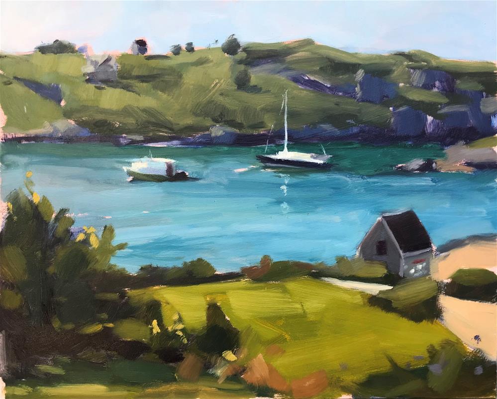 """Manana View"" original fine art by Sharon Schock"