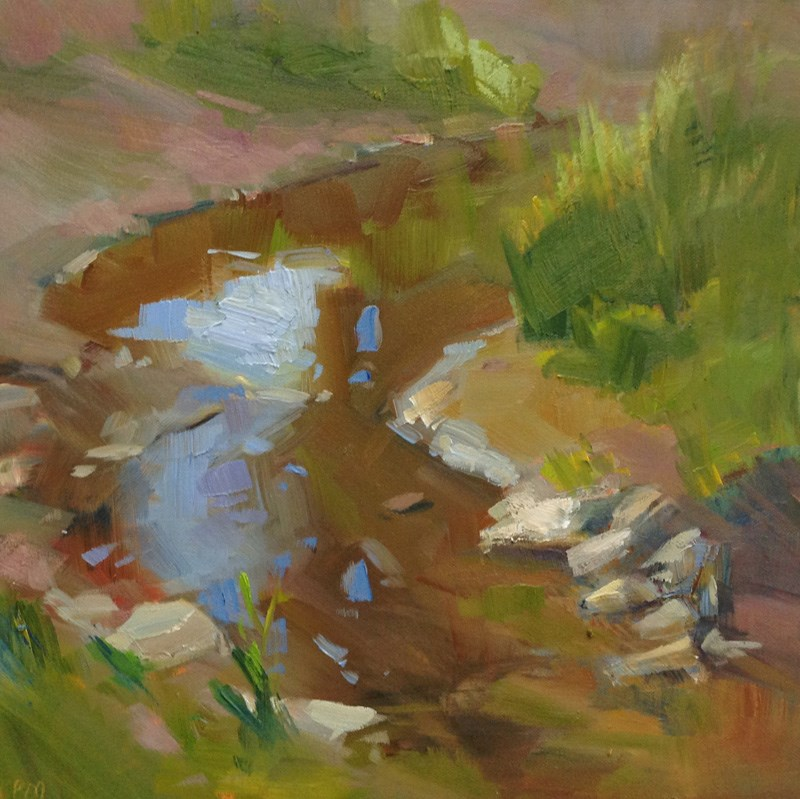 """The Dance of The Light Brigade"" original fine art by Patti McNutt"