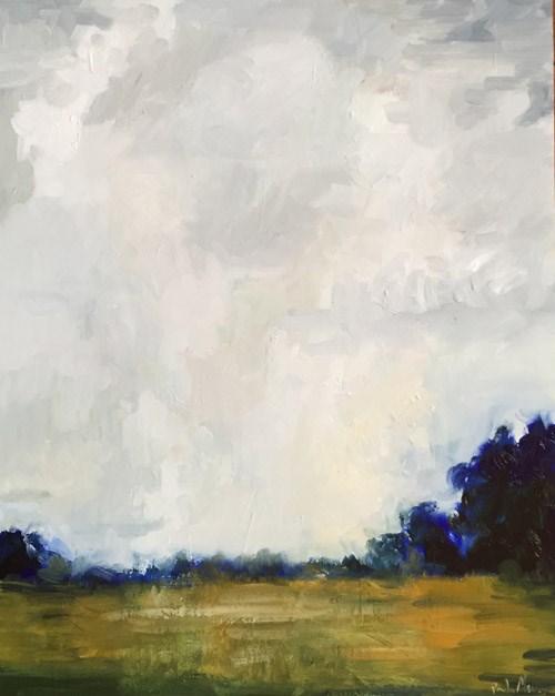 """""""On the Green"""" original fine art by Pamela Munger"""