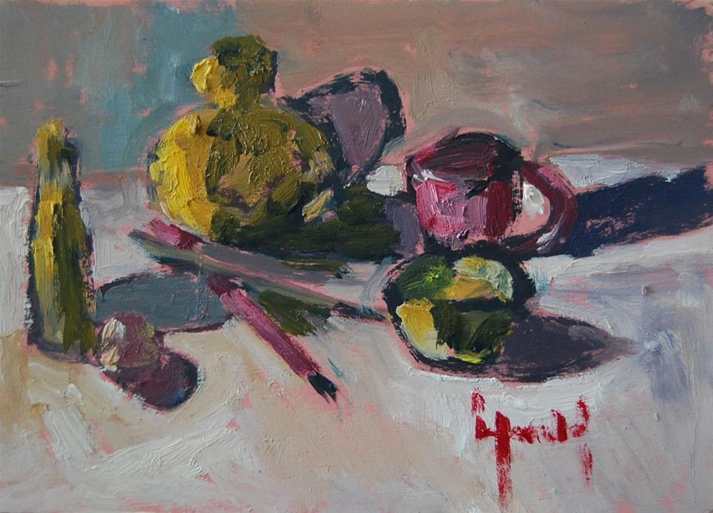 """Small Study"" original fine art by Deborah Harold"