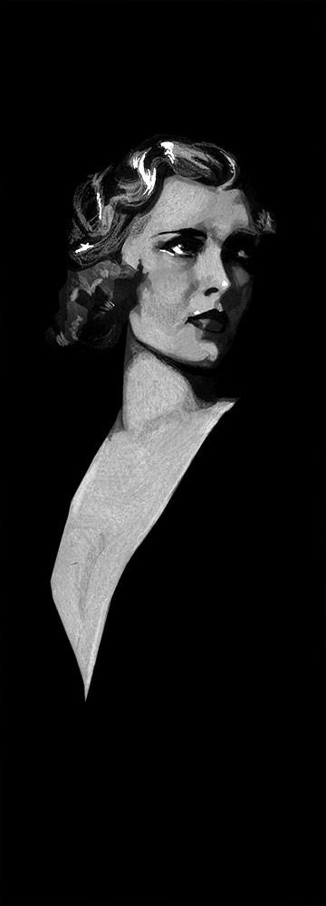 """""""Drucilla"""" original fine art by Elizabeth Dawn Johnston"""