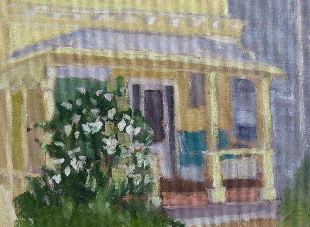 """Front Porch"" original fine art by Pam Holnback"