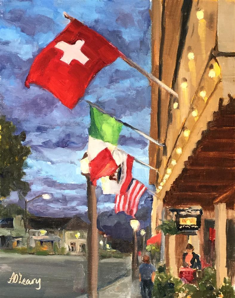 """""""Twilight in Sonoma"""" original fine art by Alice O'Leary"""