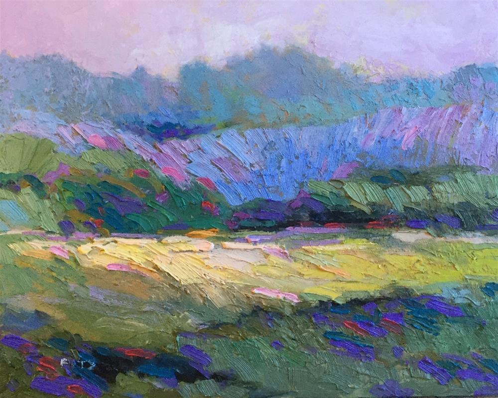 """Ripening Grasses"" original fine art by Charlotte Fitzgerald"