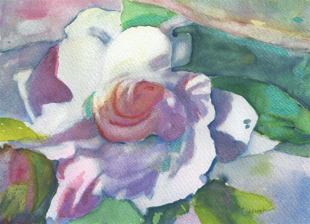 """Kool Rose"" original fine art by Elizabeth Current"