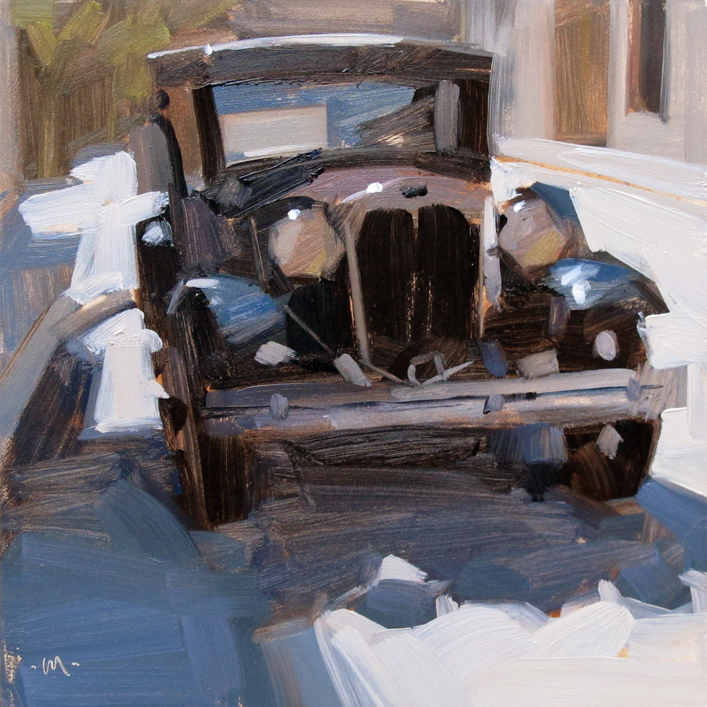 """Model A"" original fine art by Carol Marine"