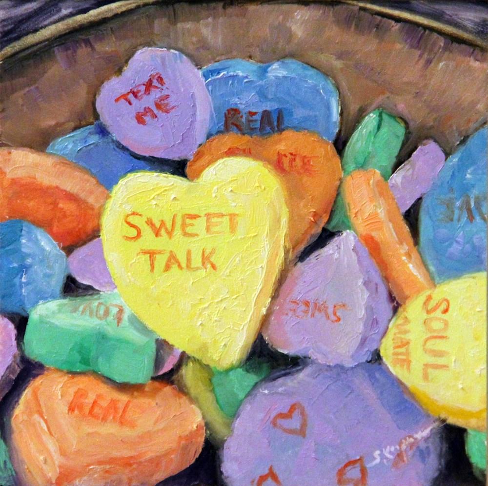 """""""Bowl Full of Love"""" original fine art by Shelley Koopmann"""