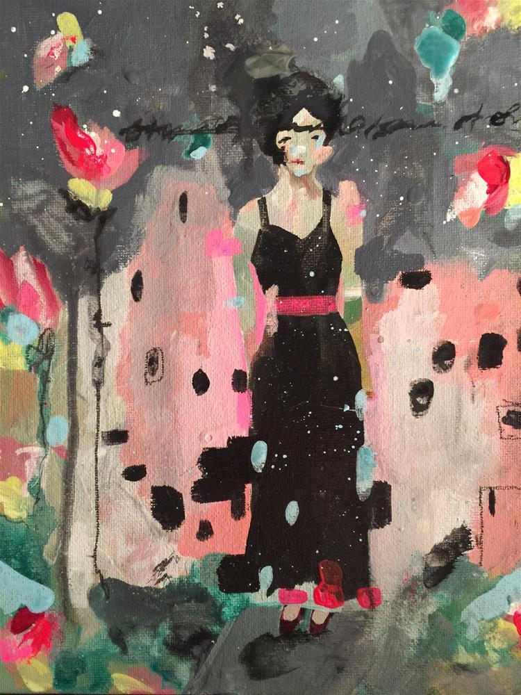 """""""165 The City Life"""" original fine art by Jenny Doh"""