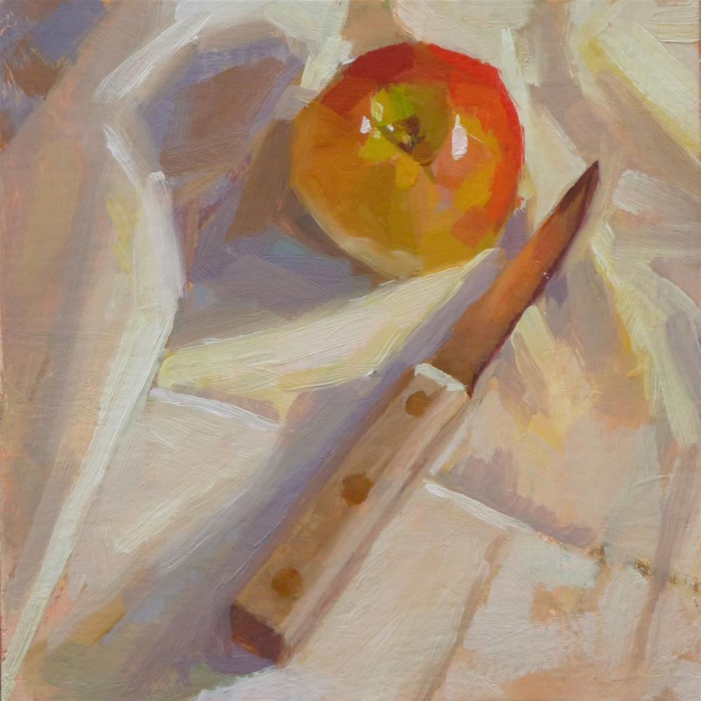 """Ready to Slice"" original fine art by Ron Ferkol"
