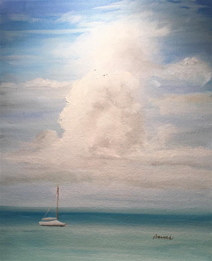 """Glory (Framed)"" original fine art by Patty Barnes"