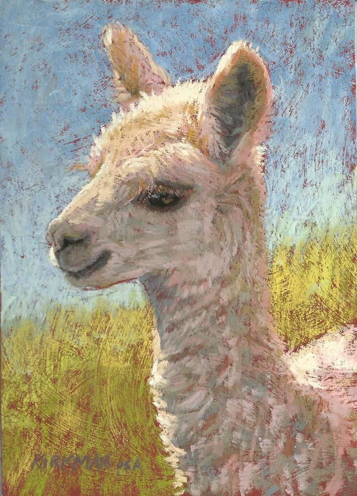 """Blanca"" original fine art by Rita Kirkman"