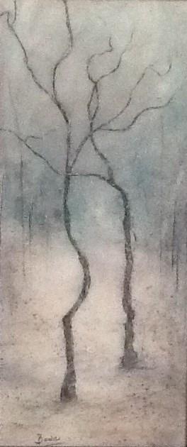 """""""Winters Waltz"""" original fine art by Maureen Bowie"""