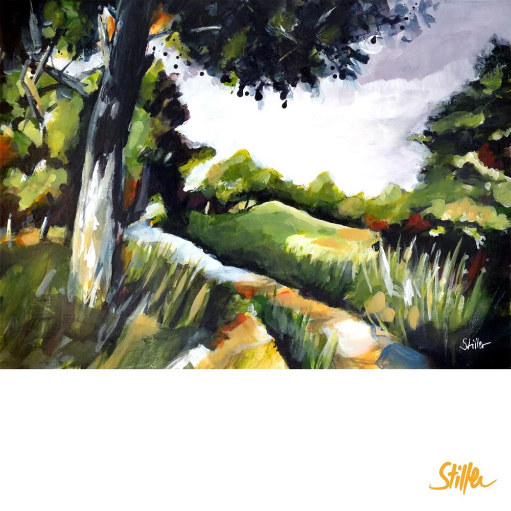 """3504 InTheBush"" original fine art by Dietmar Stiller"