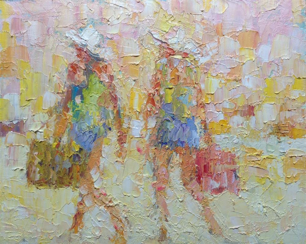 """Twins"" original fine art by Joseph Mahon"