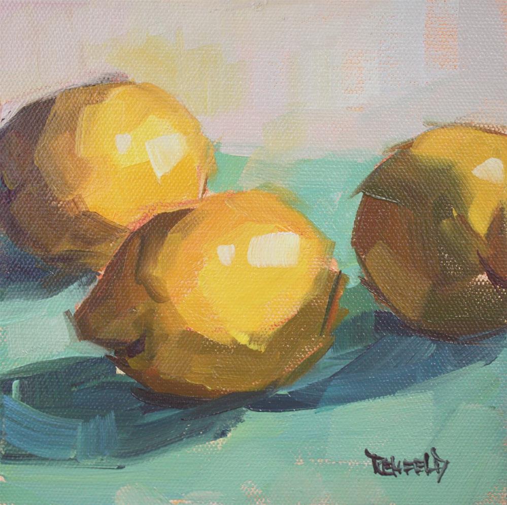 """Color of Summer"" original fine art by Cathleen Rehfeld"