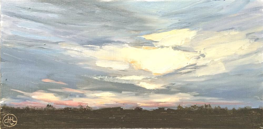 """""""cloud hammock"""" original fine art by Dottie  T  Leatherwood"""