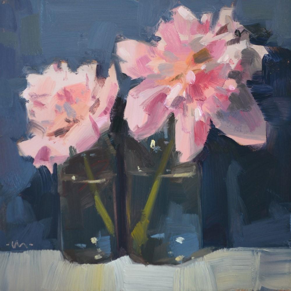 """Apart Together"" original fine art by Carol Marine"