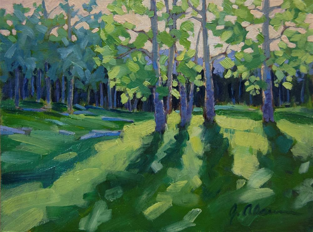 """Morning Has Broken"" original fine art by Gary Alsum"