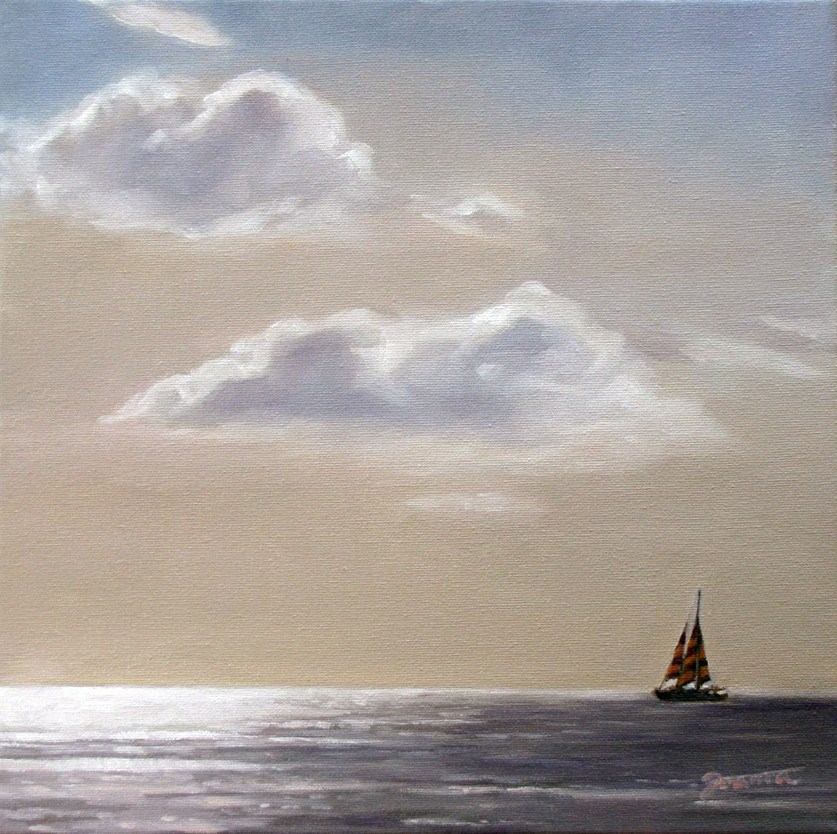 """Silver Light"" original fine art by Joanna Bingham"