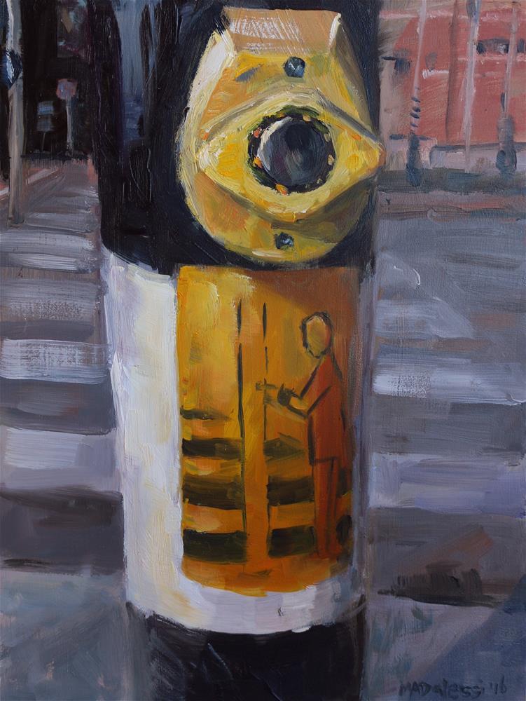 """Stating the obvious"" original fine art by Miranda Dalessi"