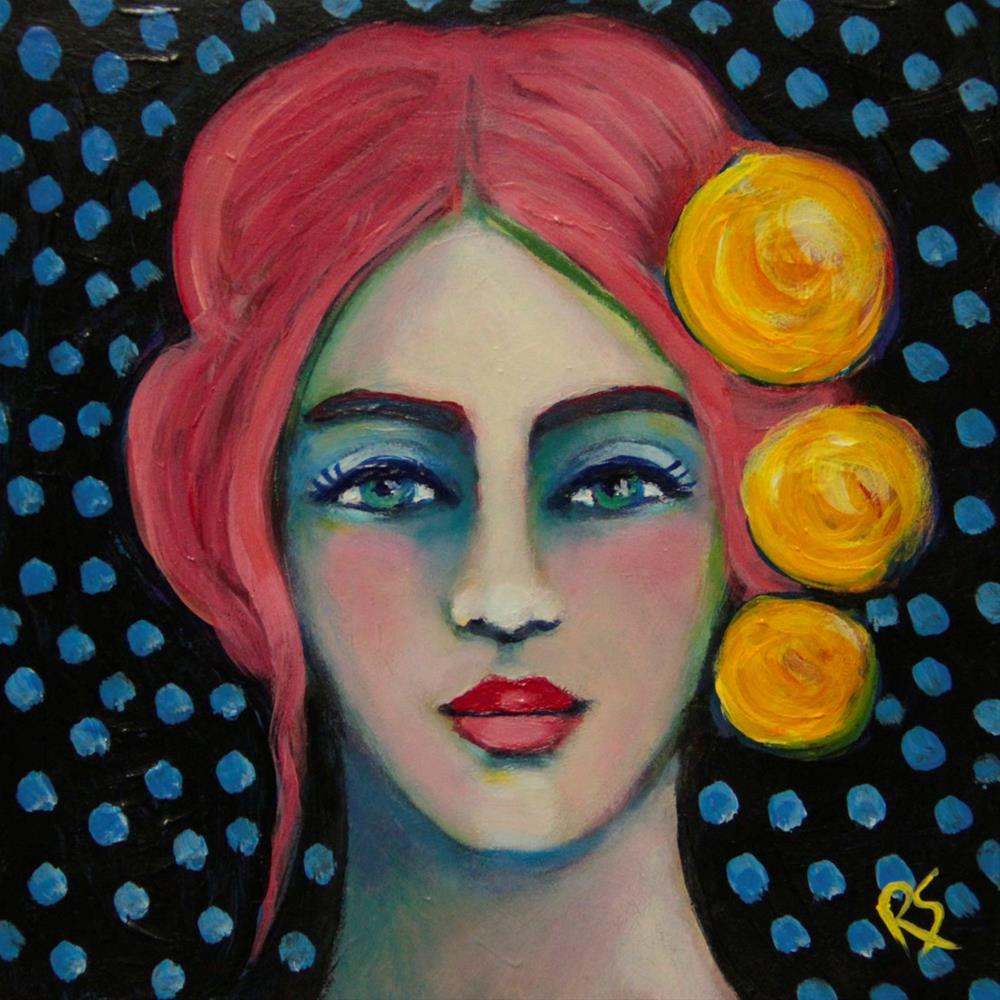 """Heidi"" original fine art by Roberta Schmidt"