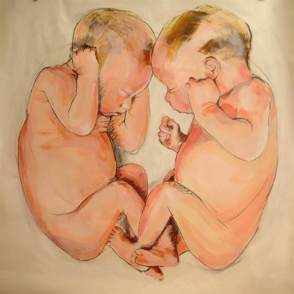 """""""Mirrored"""" original fine art by Linda Lowery"""