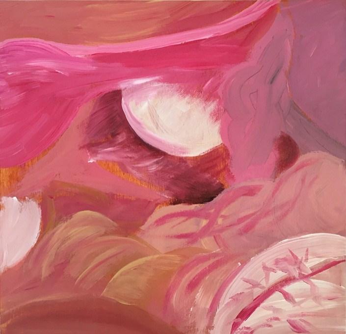 """""""Interior Woman V"""" original fine art by Madeleine Hoffmeister"""