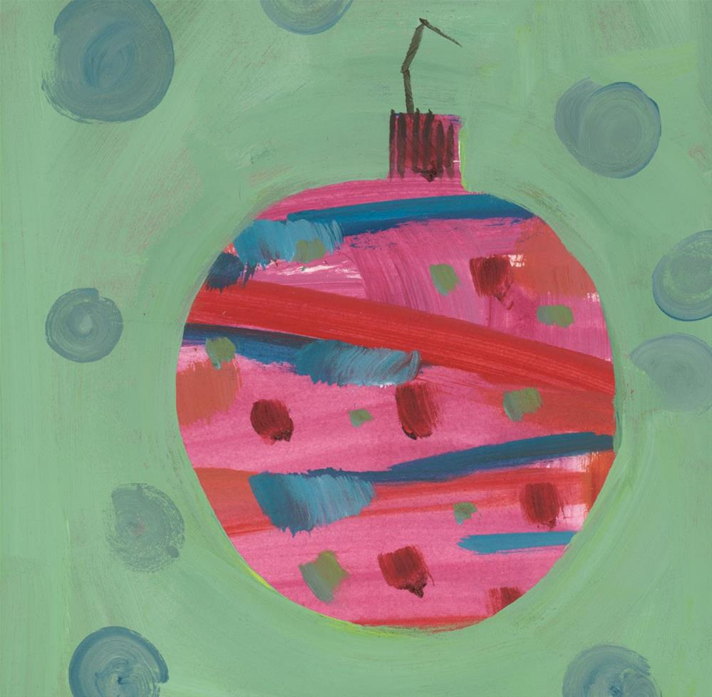 """0950: Groovy Christmas, No. 3"" original fine art by Brian Miller"