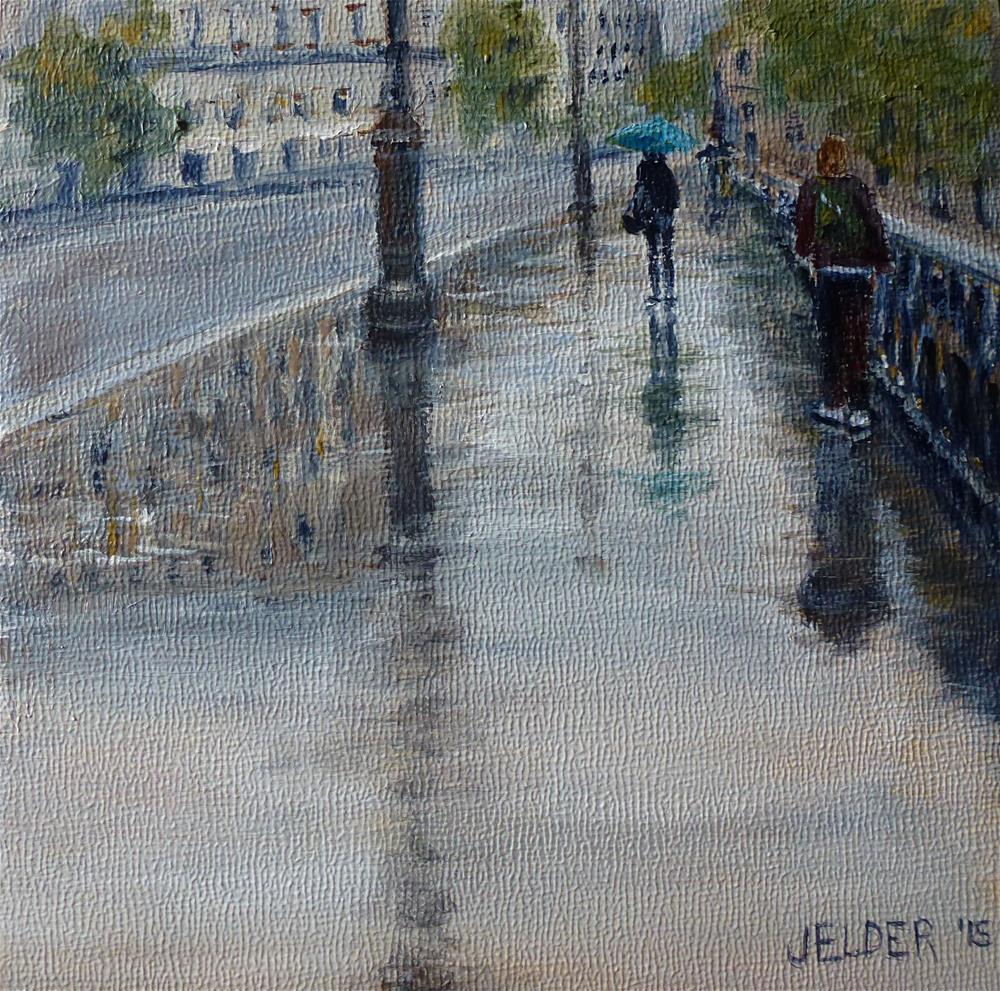 """Paris No. 92"" original fine art by Judith Elder"