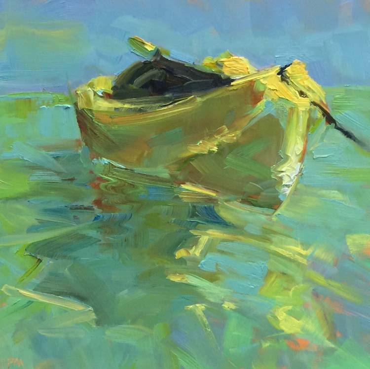 """Floating on Light"" original fine art by Patti McNutt"